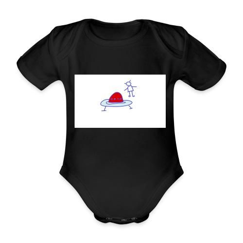 Project 3 - Body orgánico de manga corta para bebé