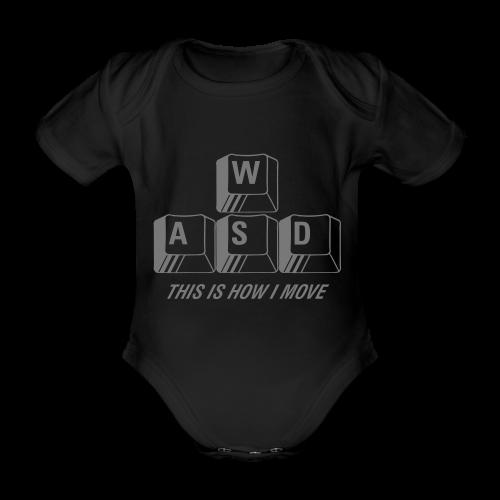 T-shirt Premium, WASD This is how I move - Ekologisk kortärmad babybody