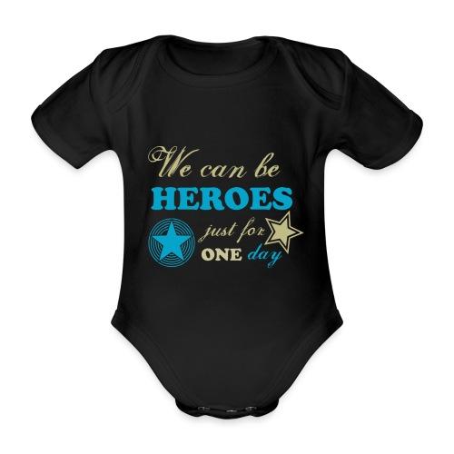 heroes - Body Bébé bio manches courtes