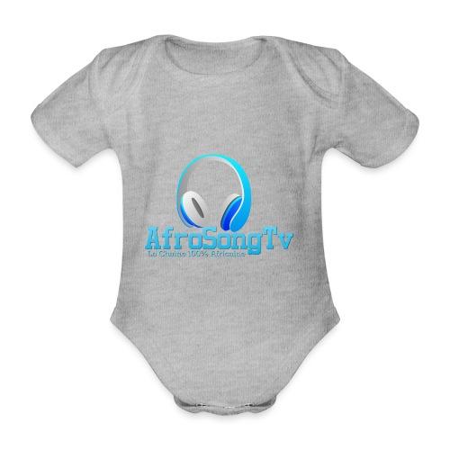 logo - Body orgánico de maga corta para bebé