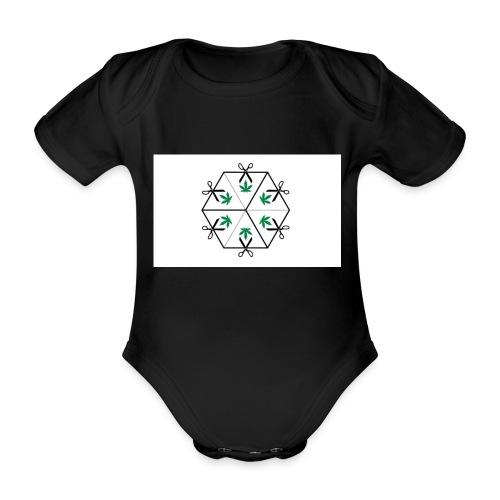 HighCube - Body ecologico per neonato a manica corta