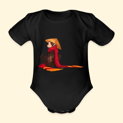 Un singe en hiver - Body bébé bio manches courtes