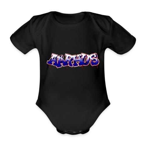 AARHUS - Kortærmet babybody, økologisk bomuld