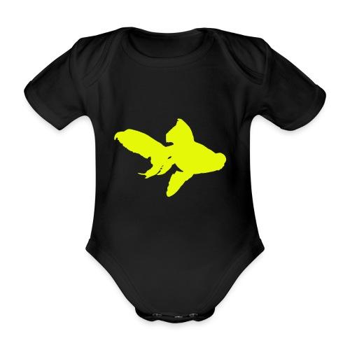 black moor - Body ecologico per neonato a manica corta