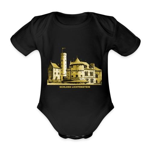 Lichtenstein Schloss Honau Baden-Württemberg - Baby Bio-Kurzarm-Body