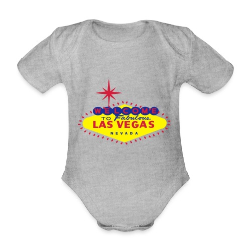 Create your own Las Vegas t-shirt or souvenirs - Organic Short-sleeved Baby Bodysuit