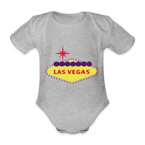 create your own LAS VEGAS products - Organic Short-sleeved Baby Bodysuit