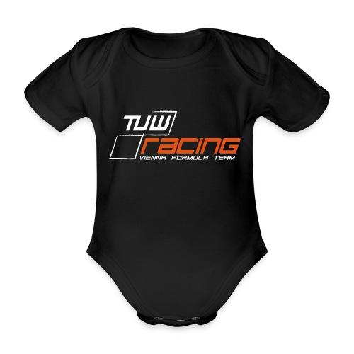 TUW Racing Logo Groß - Baby Bio-Kurzarm-Body