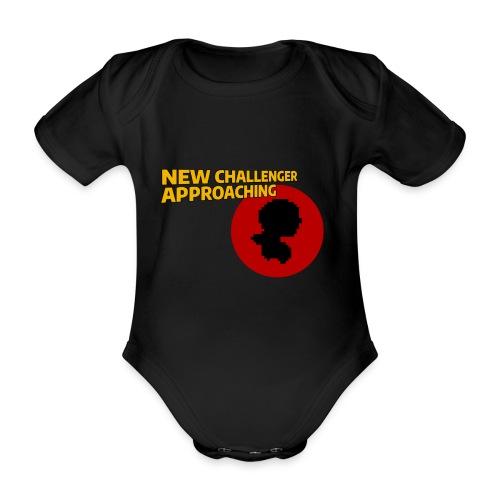 New Challenger Approaching - Baby bio-rompertje met korte mouwen