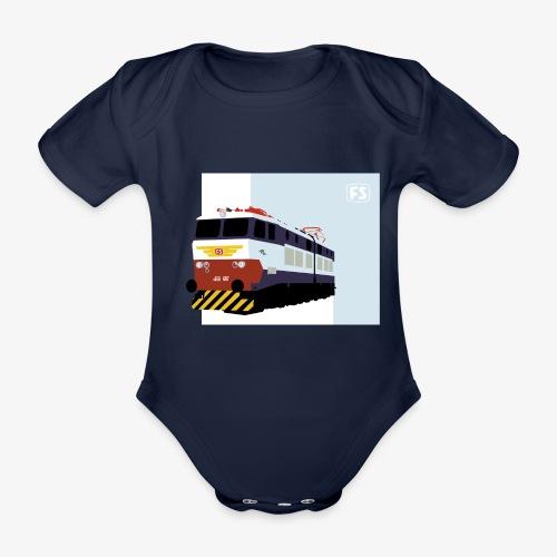 FS E 656 Caimano - Body ecologico per neonato a manica corta