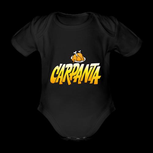 Carpanta - Body orgánico de maga corta para bebé