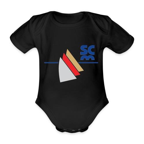 Modernes SCM Logo - Baby Bio-Kurzarm-Body
