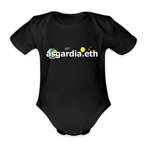 asgardia.eth - Baby Bio-Kurzarm-Body