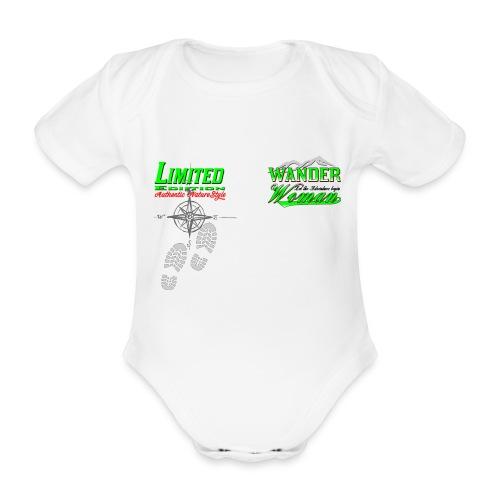 Wandern Limited Edition Wander Woman - Baby Bio-Kurzarm-Body