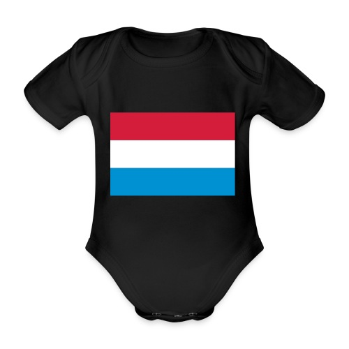 The Netherlands - Baby bio-rompertje met korte mouwen