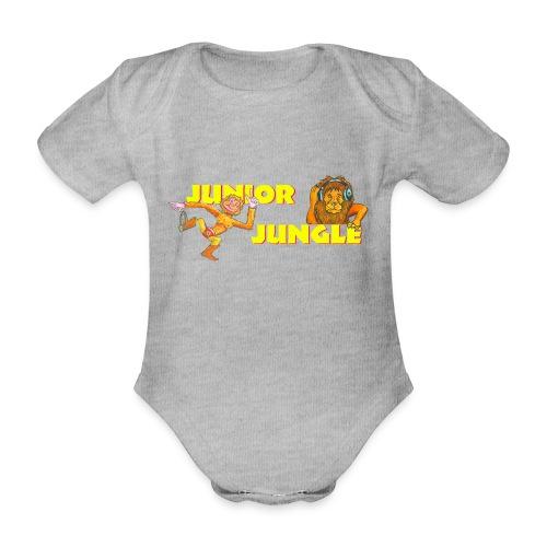 T-charax-logo - Organic Short-sleeved Baby Bodysuit