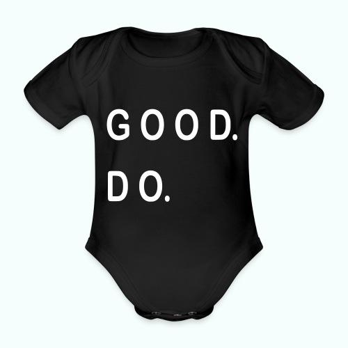 GOOD. DO. - Baby Bio-Kurzarm-Body