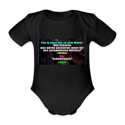 SchnitLauch - Baby Bio-Kurzarm-Body