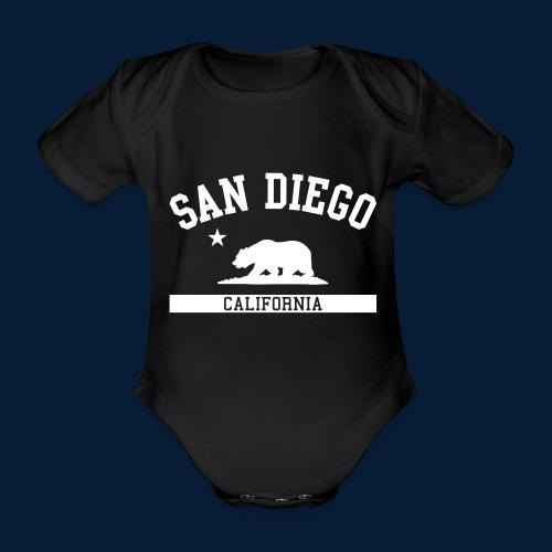 San Diego - Baby Bio-Kurzarm-Body