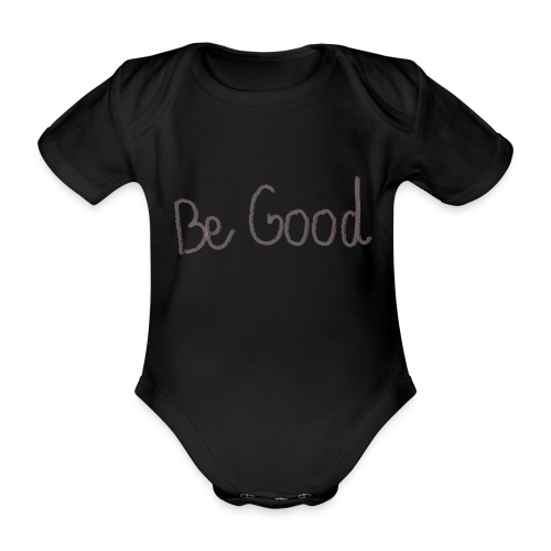 be good - Body orgánico de manga corta para bebé
