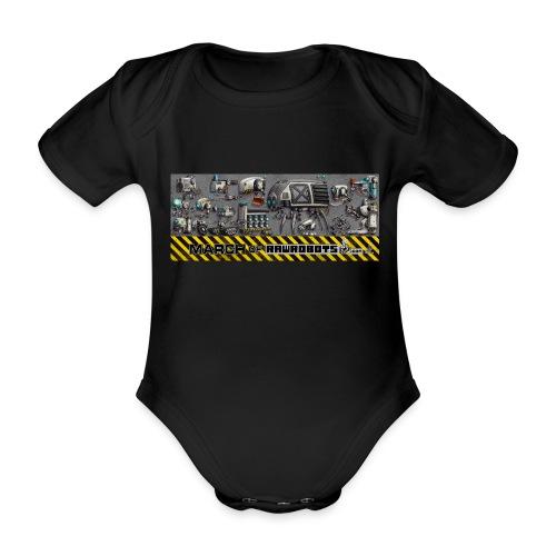 #MarchOfRobots ! LineUp Nr 1 - Kortærmet babybody, økologisk bomuld