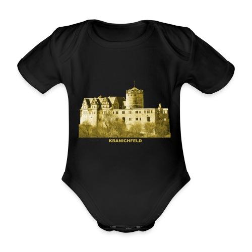Kranichfeld Schloss Oberschloss Thüringen - Baby Bio-Kurzarm-Body
