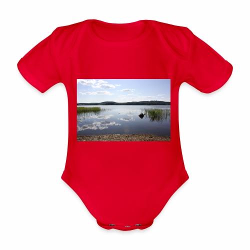 landscape - Organic Short-sleeved Baby Bodysuit