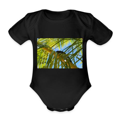 Camaleonte - Body ecologico per neonato a manica corta