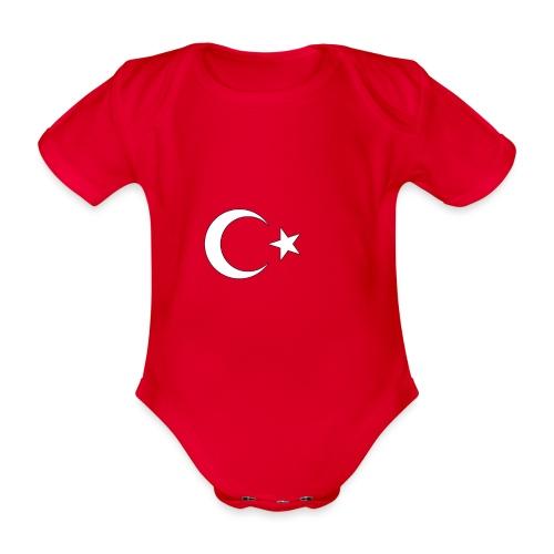 Turquie - Body Bébé bio manches courtes