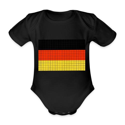 german flag.png - Body ecologico per neonato a manica corta