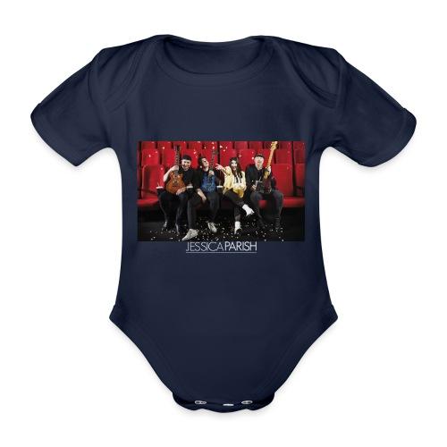 Jessica Parish Band - Baby Bio-Kurzarm-Body