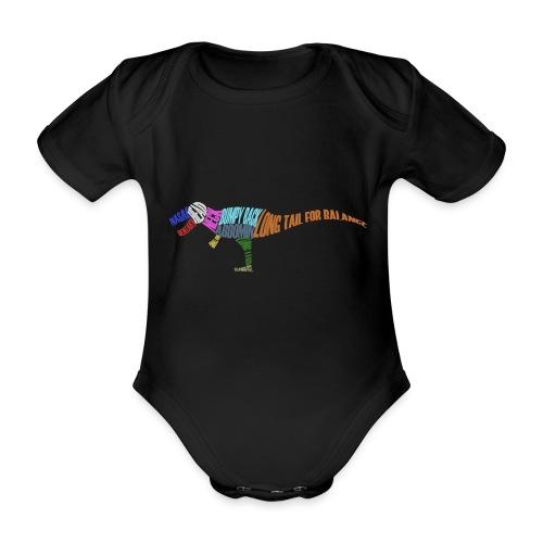 DINOSAUR - Organic Short-sleeved Baby Bodysuit