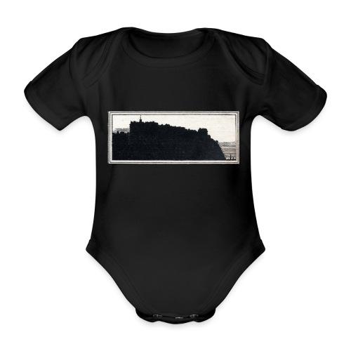 back page image - Organic Short-sleeved Baby Bodysuit