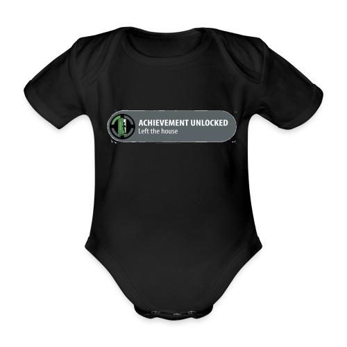 Achievement - Baby bio-rompertje met korte mouwen
