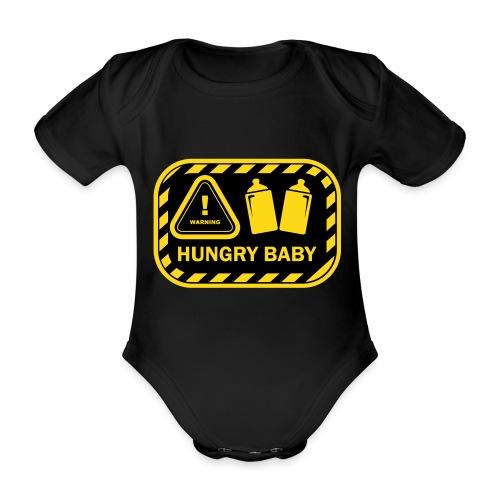 Hungry baby 1 - Baby Bio-Kurzarm-Body