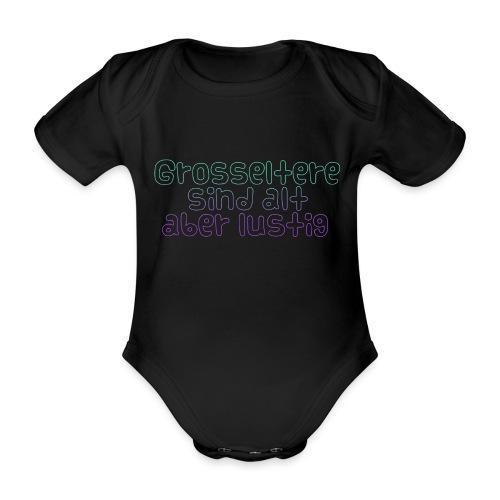 Grosseltern - Baby Bio-Kurzarm-Body