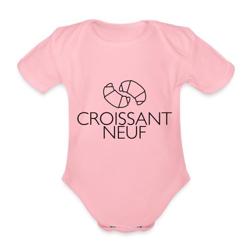 Croissaint Neuf - Baby bio-rompertje met korte mouwen