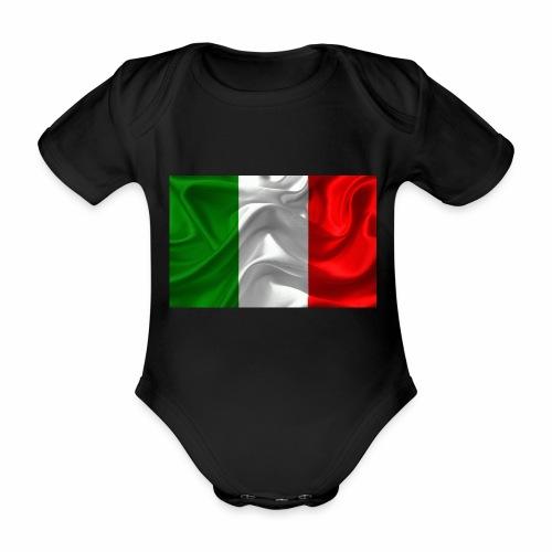 Italien - Baby Bio-Kurzarm-Body