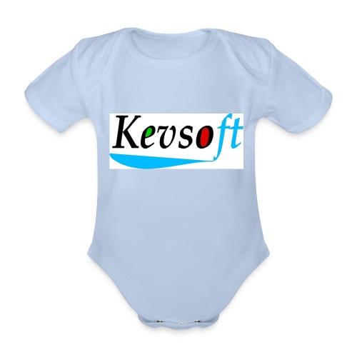 Kevsoft - Organic Short-sleeved Baby Bodysuit