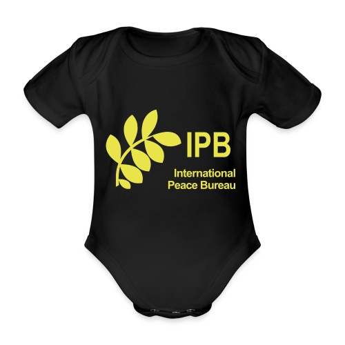 International Peace Bureau IPB Logo - Organic Short-sleeved Baby Bodysuit