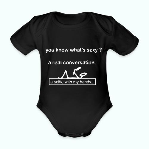 what's sexy v 1702410_13 - Baby Bio-Kurzarm-Body