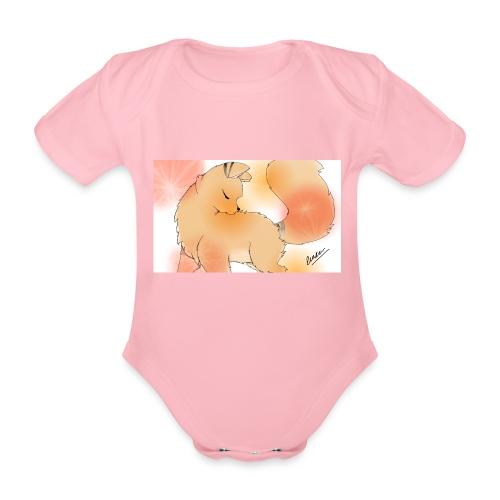 SPOTLIGHT - Body orgánico de maga corta para bebé