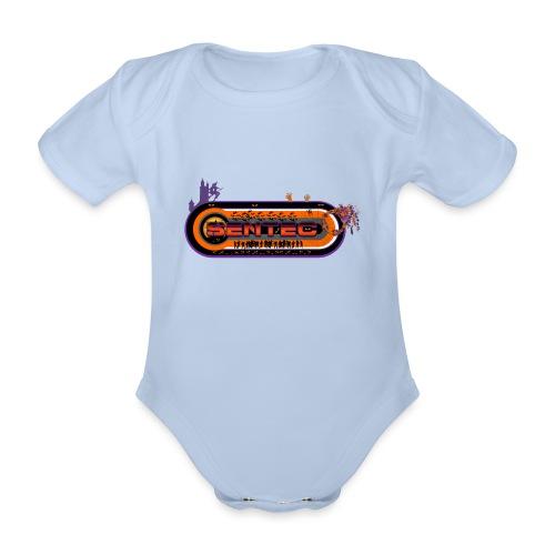 004 - Body orgánico de manga corta para bebé