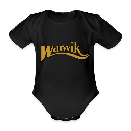 Warwik - Kortærmet babybody, økologisk bomuld