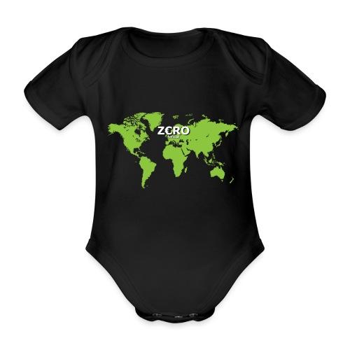 World Z€RO official - Organic Short-sleeved Baby Bodysuit