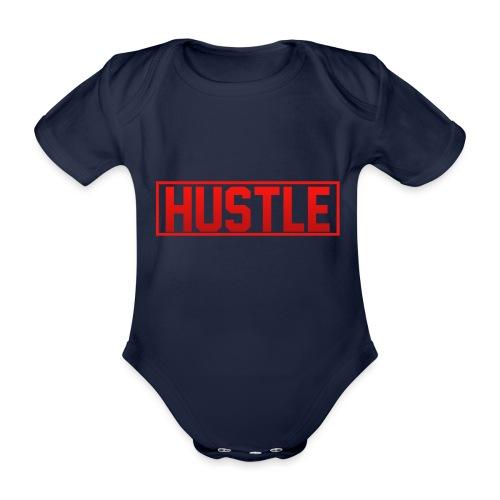 Hustle - Organic Short-sleeved Baby Bodysuit
