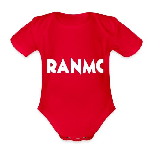 RANMC WIT png - Baby bio-rompertje met korte mouwen