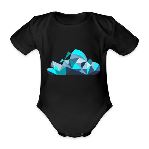 'CLOUD' Mens T-Shirt - Organic Short-sleeved Baby Bodysuit