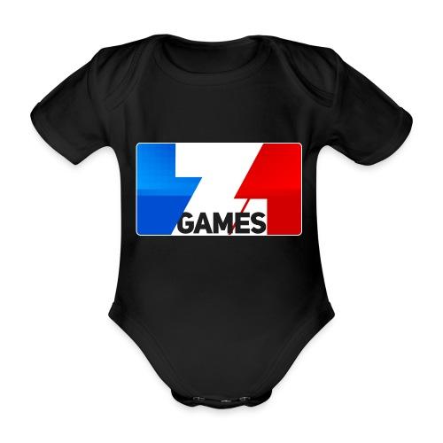 9815 2CZoominGames so MLG - Organic Short-sleeved Baby Bodysuit