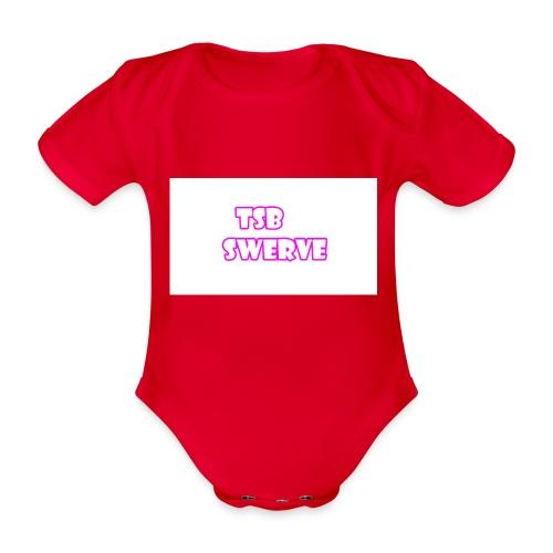 tsb shirt - Organic Short-sleeved Baby Bodysuit